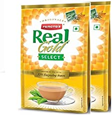 Real Gold Select Tea 500 gm(Pack of 2, Real Gold Select 250 X 2)