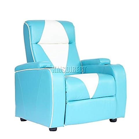 FoxHunter Leather Retro Home Theatre Cinema Movie Chair Sofa Electric