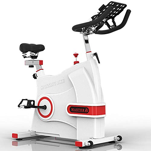 413xap4HrqL. SS500  - JYKJ Indoor Exercise Bike, Adjustable Handlebar Seat Resistance, LCD Electronic Display Reading Distance Time, Etc, Multi-function Bracket For Household Electromagnetic Rotating Bicycle