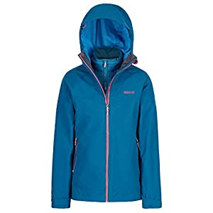 Regatta Damen Wentwood Iii 3 in 1 Waterproof and Breathable with Zip-Out Fleece Jacke