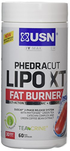 NO.1# WEIGHT LOSS  USN PHEDRACUT LIPO XT FAT BURNER REVIEWS DIET PLAN UK