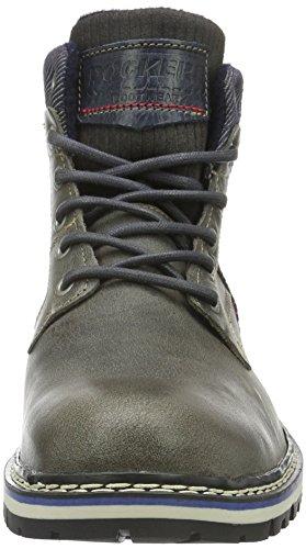 Dockers by Gerli Herren 39pe002-102220 Combat Boots Grau (dunkelgrau 220)