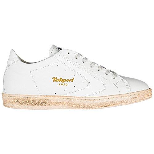 Valsport 1920 Herrenschuhe Herren Leder Schuhe Sneakers Weiß EU 45 TOUR001