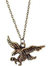 Young & Forever Men-Tastic Collection Gold Chain Eagle Pendant Necklace For Men / Women / Boys / Girls N663