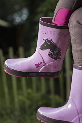 HKM Erwachsene Gummistiefel-Princess-3800 rosa29 Hose, 3800 rosa, 29