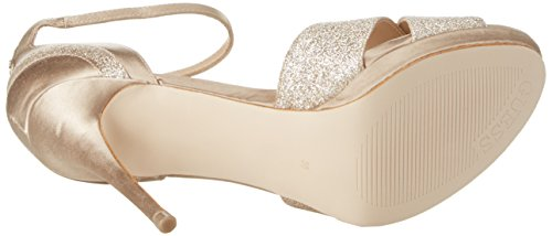 à Footwear Guess Beige Sandal Plateforme Dress Femme Medium Natural Escarpins qHqwOI