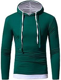 Luckycat Herren Herbst Winter Langarm Hoodie Kapuzen Sweatshirt Tops Bluse  Jacke Mantel Outwear Hoodie Kapuzen 85969407b5