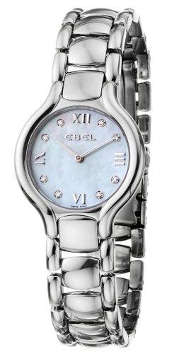 Orologio Da Donna Quarzo Ebel display Analogico cinturino Acciaio inossidabile Argento e quadrante Blu  9157421-49850