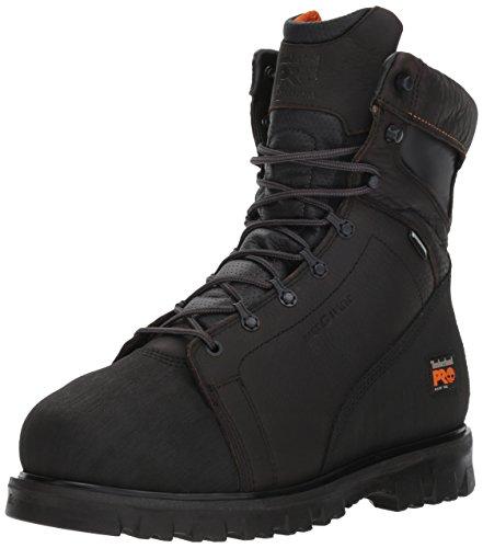 Timberland Pro Mens 8  Rigmaster Alloy Safety Toe Internal Met Guard Waterproof Shoe  9 5 UK  Dark Brown