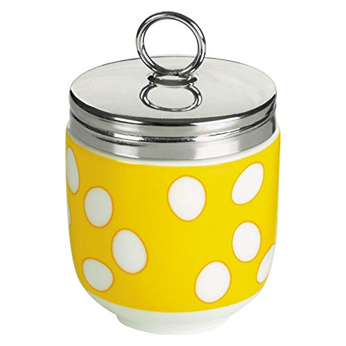 BIA Egg Coddler Yellow, Porcelain, Single