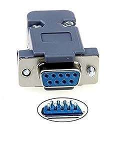 9 pin d sub buchse l tanschluss rs232 seriell db9 elektronik. Black Bedroom Furniture Sets. Home Design Ideas