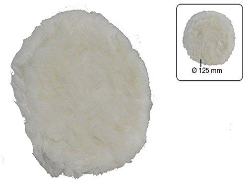 Polierscheibe 100% Lammwolle 125 mm -