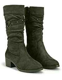 10cb7a5175 Green Women's Boots: Buy Green Women's Boots online at best prices ...
