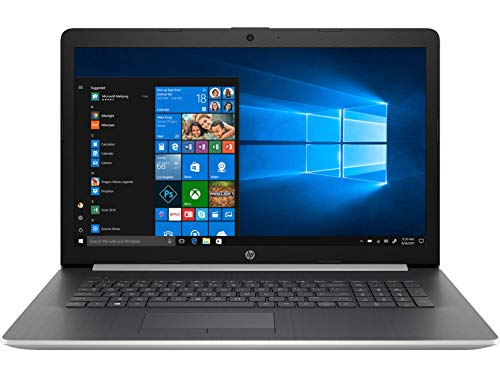 HP 17-ca1000nf - PC Portable - 17''  HD SVA Argent (AMD RyzenTM 3 3200U, RAM 4 Go, Stockage 1 To, AMD RadeonTM Vega 3, Windows 10) + AZERTY