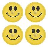 MC-Trend 4er Set Handwärmer Smiley Taschenwärmer Herz für warme Finger gegen...