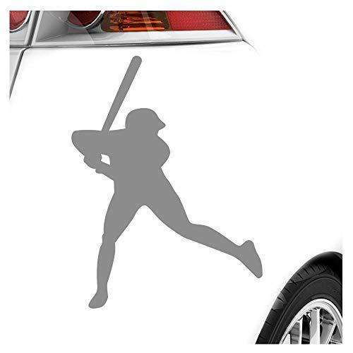 Kiwistar Baseball Game Spieler Aufkleber Sticker 25 Farben Neon Matt