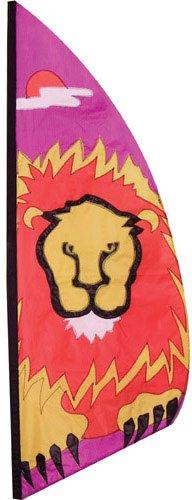 Premier Kites 23241Wind Garden Ripstop Nylon Feather Banner, Löwe, 3–1/Empfangsbereich (Halloween-kostüm Lion)
