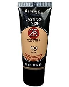Rimmel London Lasting Finish 25 hour foundation, Soft Beige, 30ml
