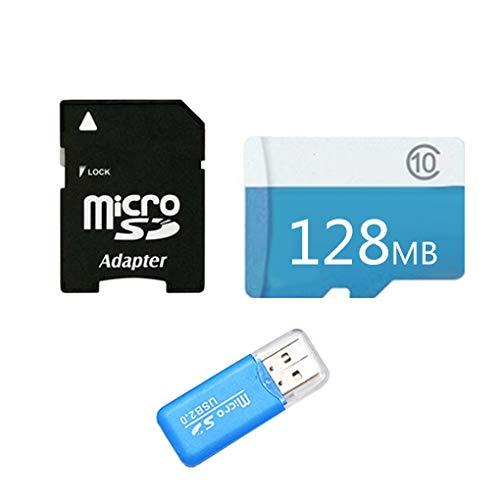 plzlm Flash-Speicherkarte 128MB / 256MB / 512MB / 1GB / 2GB / 4GB / 8GB / 16GB / 32GB / 64GB / 128GB Micro SD-Karte MicroSD-Karten Kamera-Tablette (Micro-sd-speicherkarte Gb 2)