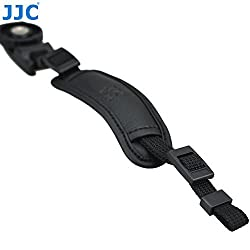 JJC HS-M1 Microfiber PU Leather Soft Camera Hand Grip Strap for Mirrorless Cameras