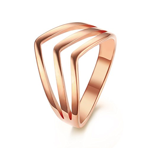 vnox-womens-girls-stainless-steel-3-layers-stackable-chevron-ring-wedding-engagement-band-rose-gold-
