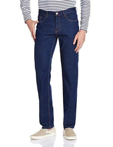 Newport Men's Slim Fit Jeans (8907542142422_269262855_36W x 32L_Blue Rinse)  available at amazon for Rs.699