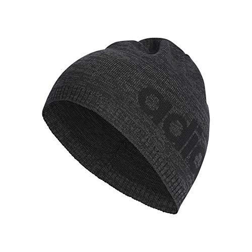 adidas Daily Beanie LT Hat, Heather/Black, One Size -