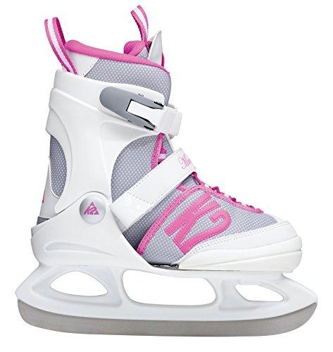 K2 Kinder Schlittschuhe Marlee Ice, Weiß-Pink, 4-8, 2550200.1.1.L