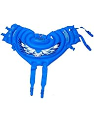 Inflatable Swimming Float Tube Swim Vest for Adults, Height 155-185CM, Blue