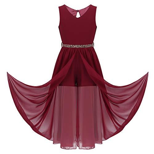 Set Incluye: 1Pc Vestido para niñas Condición: Nuevo sin etiqueta Material: poliéster, gasa, encaje Color: Multicolor (como muestran las imágenes) Longitud del vestido: Longitud del piso Tag No.---|---Tamaño recomendado---|------Busto-----|-----C...