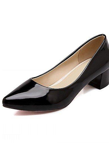 WSS 2016 Chaussures Femme-Bureau & Travail / Habillé / Décontracté-Noir / Rouge / Blanc-Talon Aiguille-Talons-Talons-Similicuir white-us11.5 / eu43 / uk9.5 / cn45