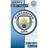 Manchester City Generic Birthday card