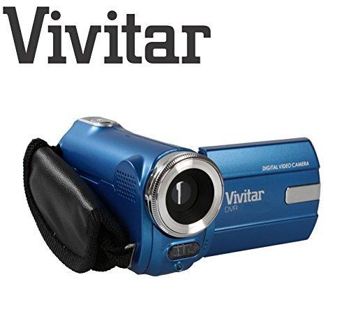 Extrem kompakter Digital-Camcorder Vivitar DVR908M, 8 Megapixel, 720p-HD-Digitalkamera 8 MP (blau)