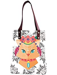 Tote Bag | Tote Bags For Girls | Canvas Tote Bag | Hand Bag | Stylish Tote Bag | Shopping Bag | Digital And Screen... - B07GPSKJ79