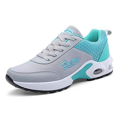 visionreast Damen Laufschuhe Sportschuhe Sneakers Mesh Atmungsaktiv Turnschuhe Leicht für Outdoor Fitness Wandern Trekking Freizeit Training (Turnschuhe Wandern Damen)