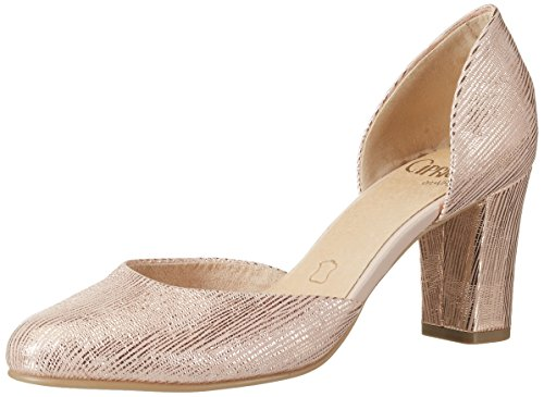 Caprice Damen 22401 Pumps, Pink (Rose Metallic), 38.5 EU (5.5 UK)