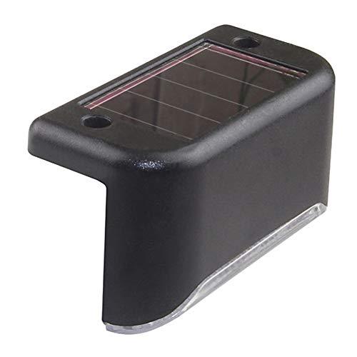 SYN 1 Luce Notturna a LED ad energia Solare, a Risparmio energetico, in ABS, Impermeabile, Moderna, per casa, Giardino, Recinzione Esterna