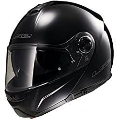 LS2 503251012XXL FF325 Casco Strobe Solid, Color Negro, Tamaño XXL