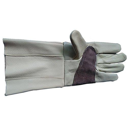 Thorn prueba guantes hombres mujeres piel vaca guantes