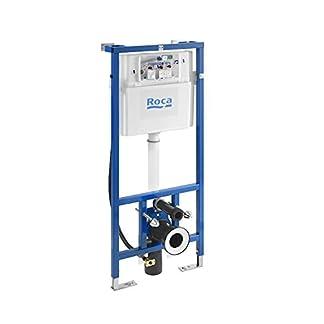 Roca A890090800 Estructura Empotrable con Cisterna de Doble Descarga y Flexo de Alimentación para Smart Toilets