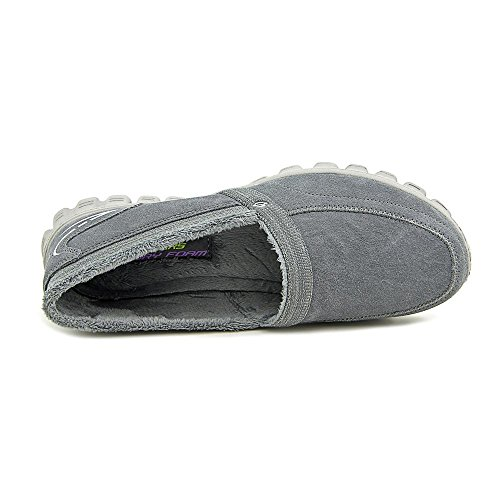 Skechers Ez Flex 2 Chilly, Baskets Basses Femme Anthracite