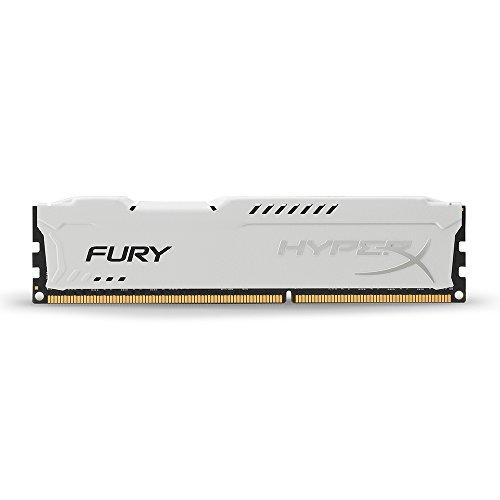 HyperX Fury - Memoria RAM de 8 GB (1866 MHz DDR3 Non-ECC CL10 DIMM), Blanco