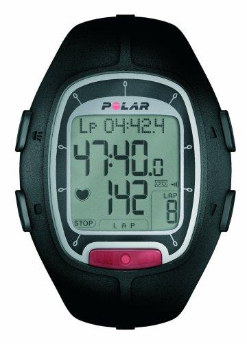 Polar Rs100 90030909 Homme Console De Frequence Cardiaque Running Noir