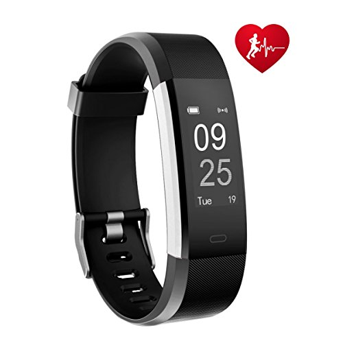TOOBUR Fitness Tracker Smart Watch Activity Tracker With Heart Rate Pedometer Calorie And Sleep Monitor Waterproof Step Counter Wristband For Android And IOS