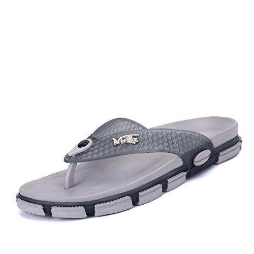 Men's Chinelo Masculino Beach Flip Flops Slippers gray