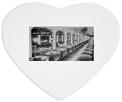 heartshaped-mousepad-with-main-factory-of-the-ford-motor-company