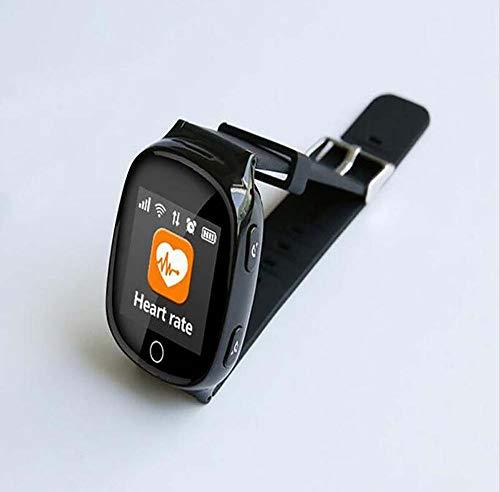 LQHLP Smart Watch Telefon Smartwatches Musik-Player Mathe-Spiele Rufen Sie Kamera Alarm Recorder Rechner Für Geburtstagsgeschenk Spielzeug (schwarz)