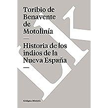 Historia de los indios de la Nueva España (Memoria)