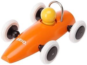 Brio 30077000 - Coche de carreras de madera, surtido: colores aleatorios
