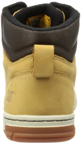 Caterpillar Colfax Mid, Sneakers Hautes Homme Jaune (Honey Reset)